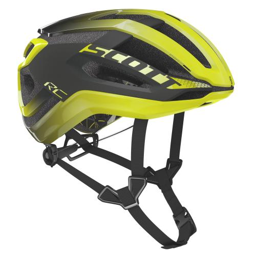 Scott Centric Plus Radium Yellow/Dark Grey