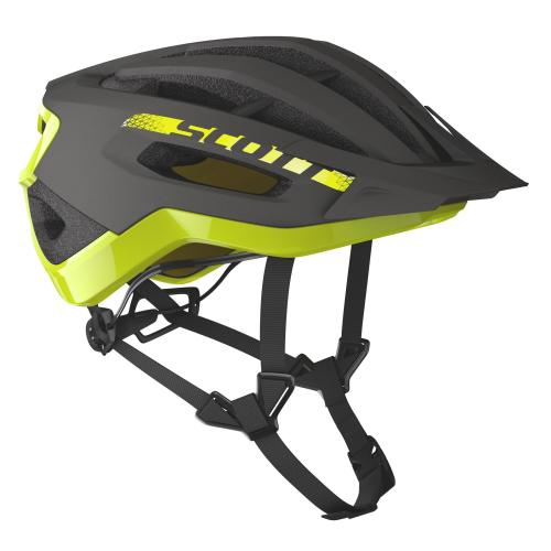 Scott Fuga Plus Dark Grey/Radium Yellow