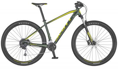 Scott Aspect 930/730 Dark Green Yellow